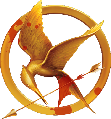 Bloody Mockingjay Pin