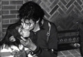 Bubbles and Michael Jackson - michael-jackson photo