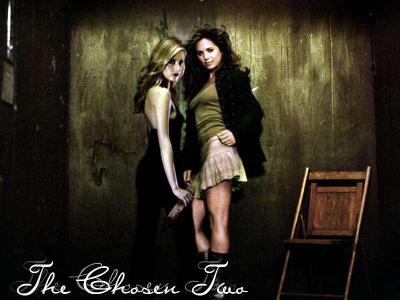 Buffy&Faith (Buffy the Vampire Slayer)
