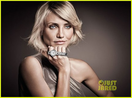 Cameron Diaz: Tag Heuer's New Face