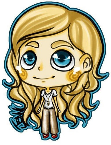 Candice's cartoon version PaleyFest 2012♥