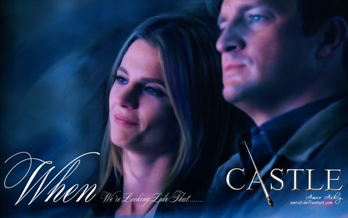 Caskett wallpaper probably containing a portrait entitled Caskett Love <3