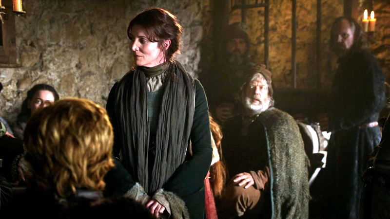 Catelyn and soldiers