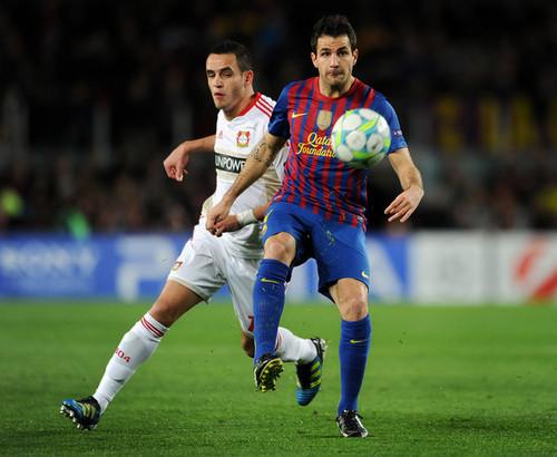 Cesc (Barcelona - Bayern Leverkusen)