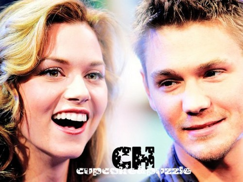 Chad and Hilarie wallpaper containing a portrait titled Chad and Hilarie <3