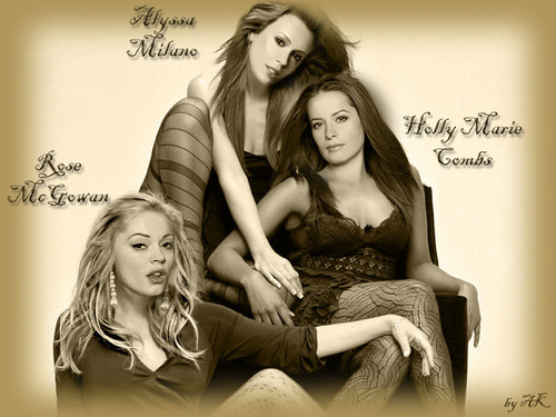 HaleyDewit wallpaper possibly with a couch and a portrait titled Charmed