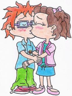 Chuckie and Lil Kissing - Rugrats Fan Art (29611221) - Fanpop