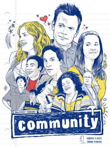 Community PaleyFest 2012 Poster <3