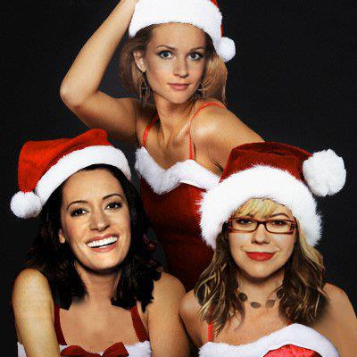 Criminal Minds Girls wallpaper titled Criminal Minds Santa Helpers
