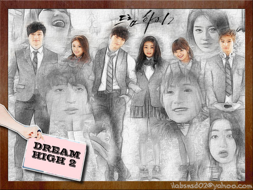 Dream High 2 fond d'écran probably containing a newspaper and animé called DH 2