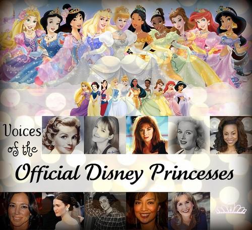 Voices of the Disney Princesses