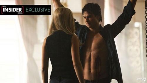 Damon and Rebekah,3x18