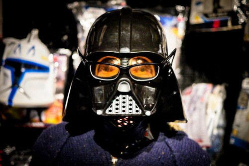 Darth Asa! - Star wars and Asa Butterfield, does it get better than this?