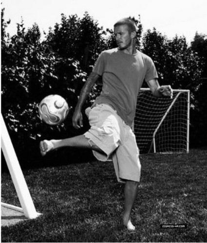 David Beckham: Photoshoot