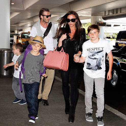 David and Victoria Beckham - the-beckhams Photo