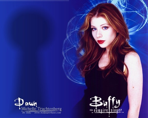 HaleyDewit wallpaper containing a portrait called Dawn Summers (Buffy the Vampire Slayer)