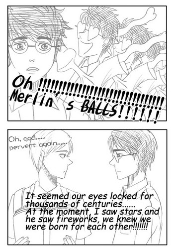 Drarry Comic Part 3 - harry-and-draco Fan Art
