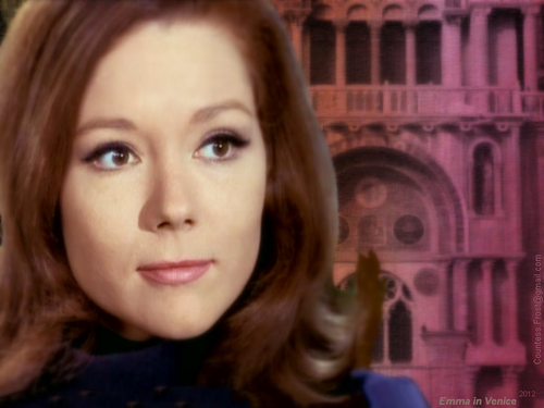 Emma in Venice - diana-rigg Wallpaper