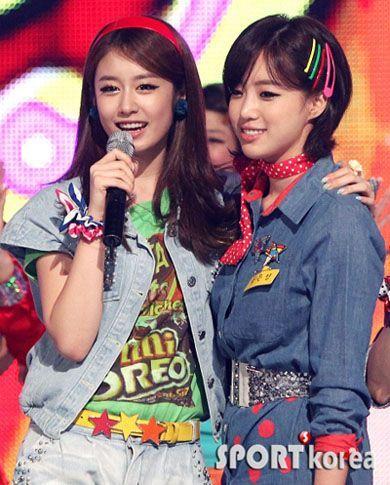 Eun Jung & Jiyeon - T♔ARA (티아라) Photo (29648830) - Fanpop