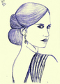 Eva Green by Prashan - eva-green fan art