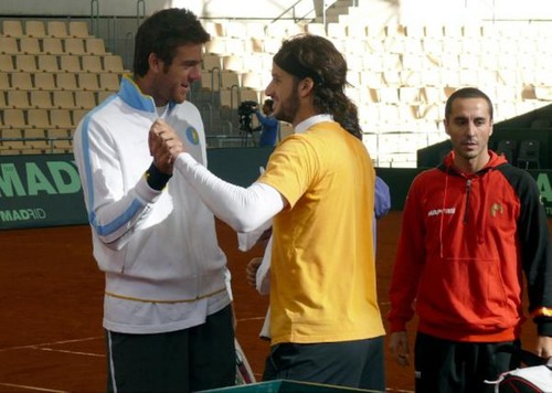 Feliciano Lopez dancing  - feliciano-lopez Photo