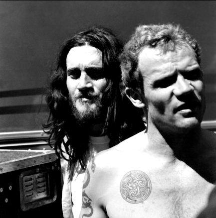 Red Hot Chili Peppers wallpaper titled Fru & Flea