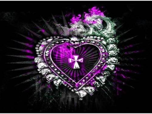 Gothic hati, tengah-tengah