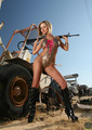 HOT & SEXY ACTION BABE - playboy photo