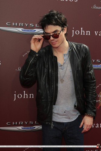 HQ Pics - Ian @ John Varvatos 9th Annual House Benefit