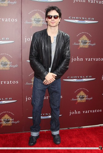 HQ Pics - Ian and Nina @ John Varvatos 9th Annual House Benefit - 11 March 2012