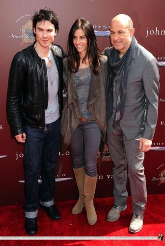 HQ Pics - Ian and Nina @ John Varvatos 9th Annual House Benefit - 11 March 2012