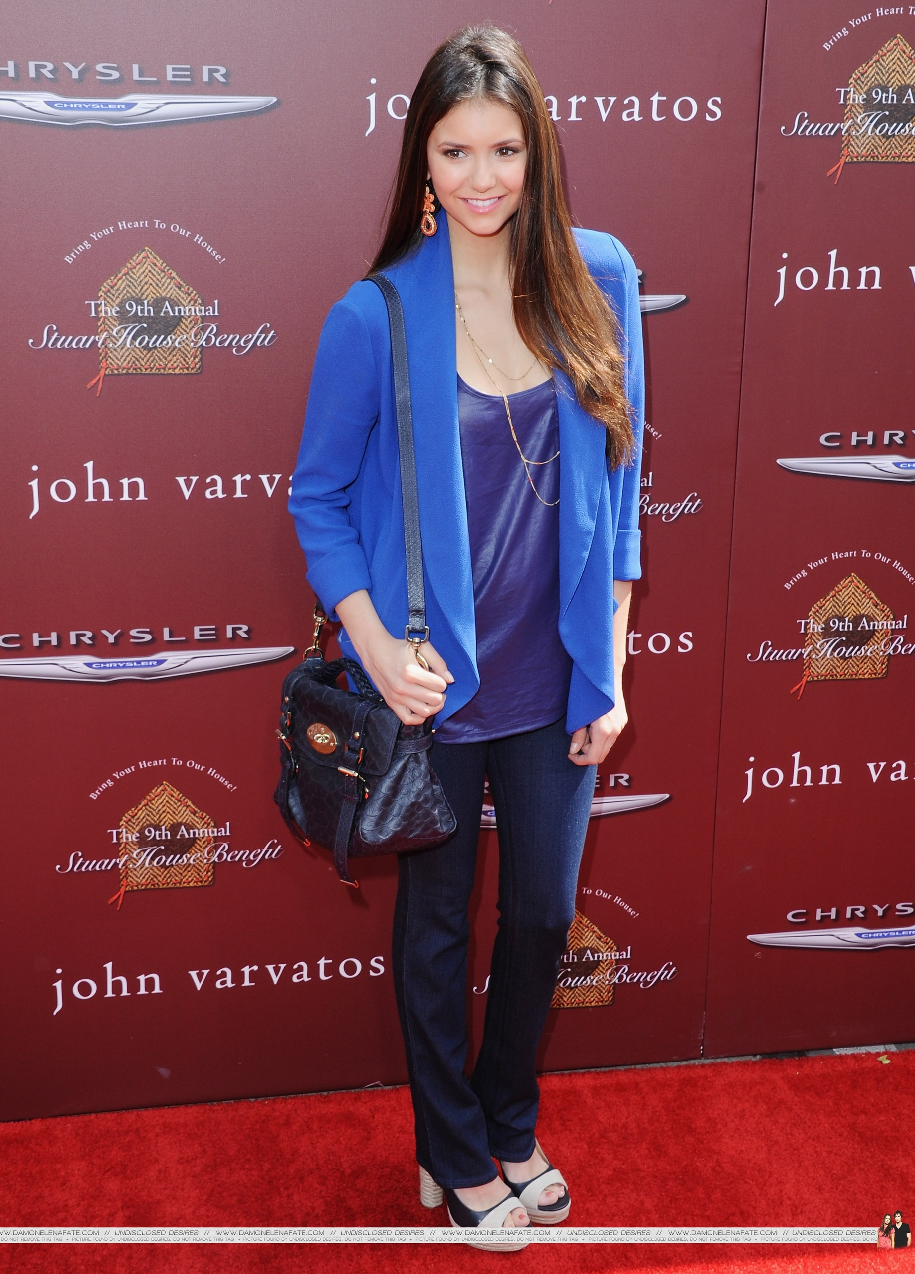 HQ Pics - Nina @ John Varvatos 9th Annual House Benefit