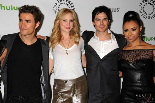 "HQ pics of Candice at PaleyFest 2012 [Presenting ""The Vampire Diaries""]."