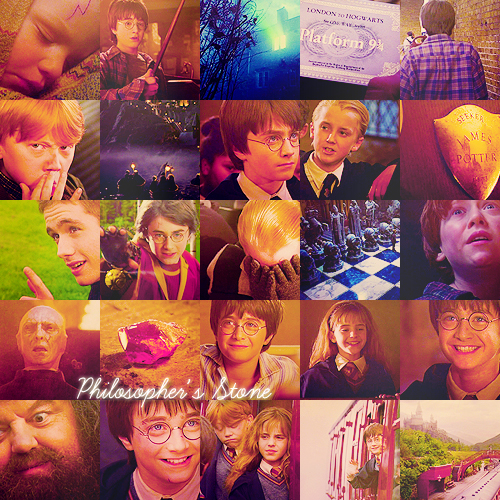 Harry Potter and the: Philosopher's Stone/Sorcerer's Stone