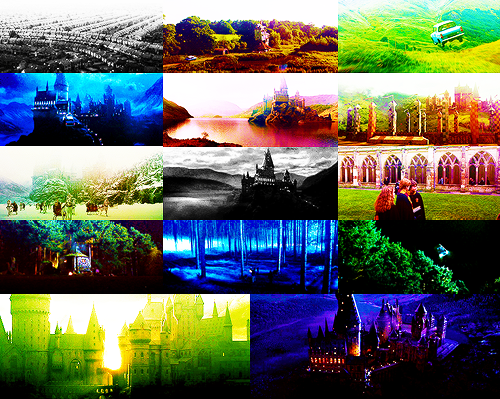 Harry Potter scenery. ↯Harry Potter and the Chamber of Secrets