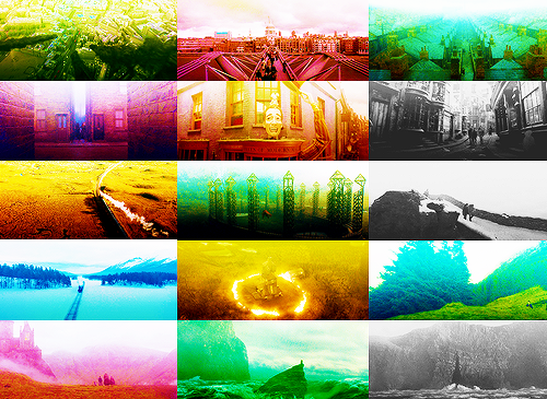 Harry Potter scenery. ↯Harry Potter and the Half Blood Prince