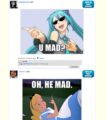 He Mad. - fanpop-win Screencap