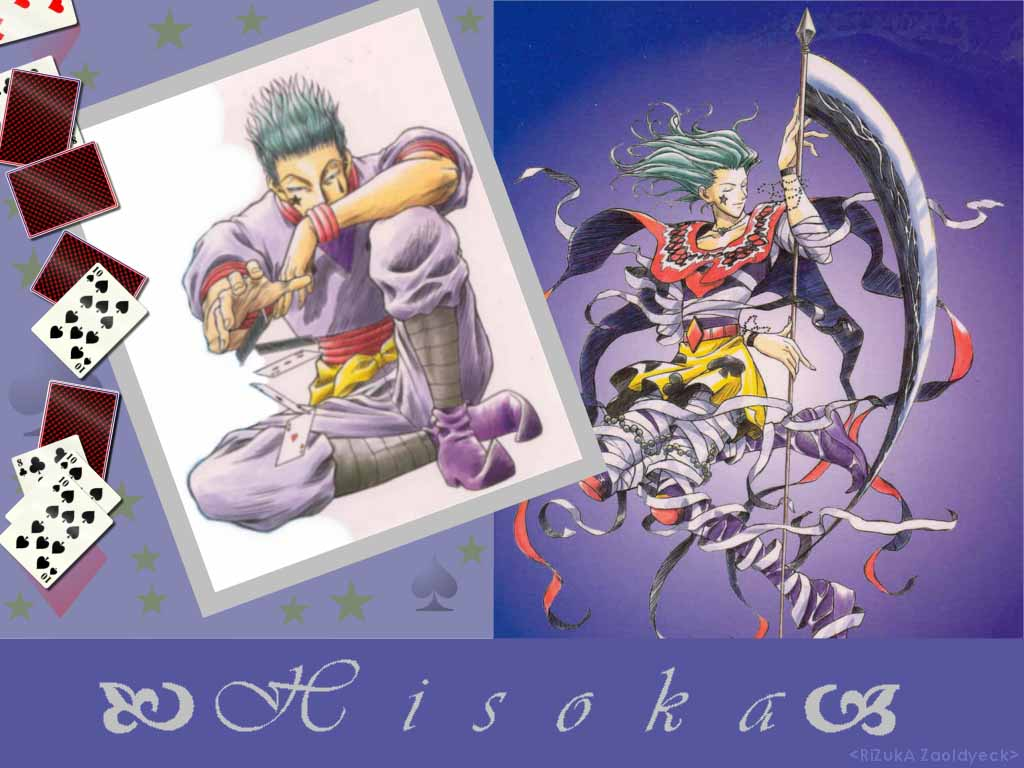 Hisoka Hunter X Hunter Wallpaper 29678008 Fanpop