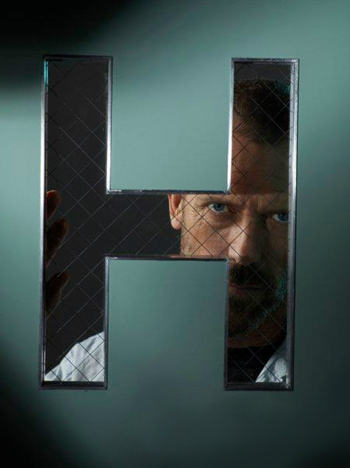 House fond d'écran containing a chainlink fence called House Unreleased Poster - Season 6