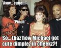 Michael's cute dimples!