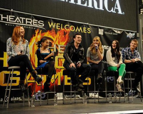 Hunger Games Cast in Minneapolis