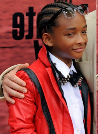 Jaden Smith with the Thriller giacca