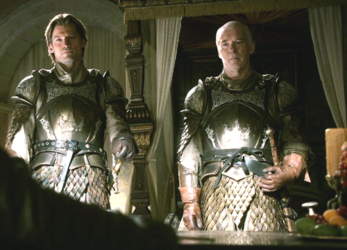 Jaime and Barristan Selmy