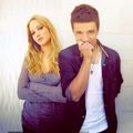 Jen and Josh.  - jennifer-lawrence-and-josh-hutcherson fan art