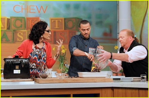 "Jesse at ""The Chew"""