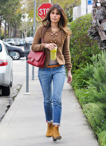 Jordana - Grabs Lunch At Lemonade, February 29, 2012