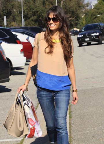Jordana - Leaving A Salon In Beverly Hills, March 2, 2012