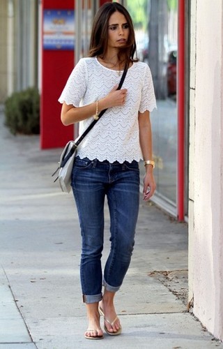 Jordana - Strolls Around Beverly Hills, September 28, 2011