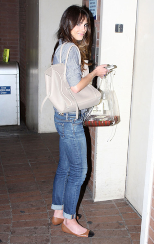 Jordana - Waiting For An Elevator In Beverly Hills, February 23, 2012