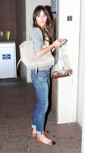 Jordana - Waiting For An Elevator In Beverly Hills, February 23, 2012
